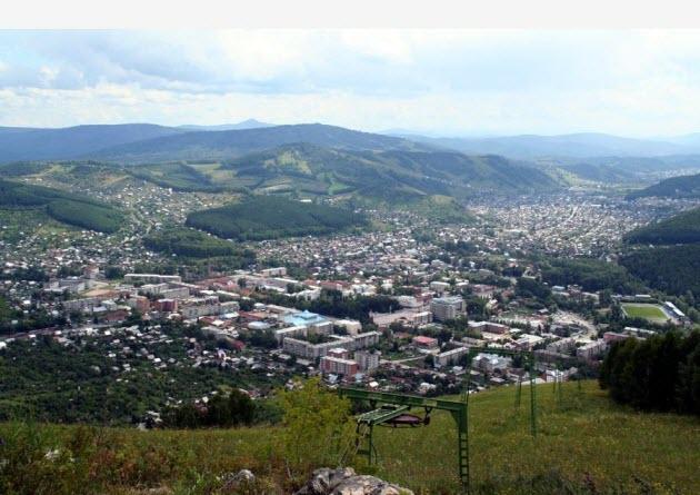 Панорама Горно-Алтайска