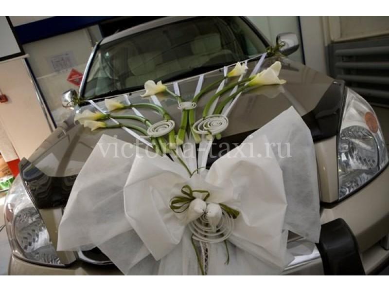 Свадебные банты на свадебную машину своими руками фото 894